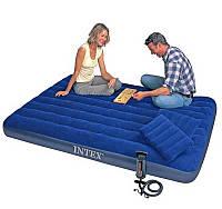 Надувной матрас Интекс Classic Downy Bed Set