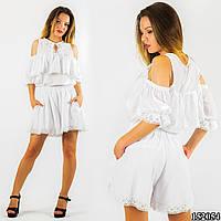 Белый костюм 152054