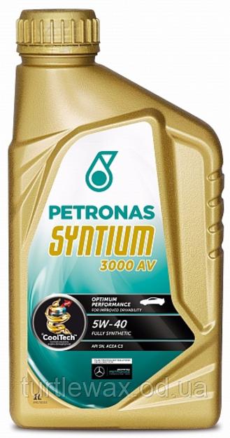 Масло моторное PETRONAS Syntium 3000 AV 5W-40 (1л.)