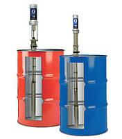 Подающие (бочковые) насосы для бочек 200л пневматические (перекачивающие насосы GRACO T1 / T2)