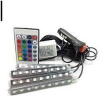 цветная подсветка для авто водонепроницаемая RGB  led ambient HR-01678