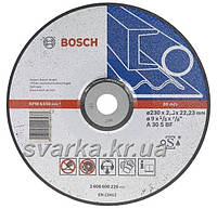 Круги отрезные, зачистные Bosch, NORTON, KRONENFLEX Klingspor, ЗАК (Запорожский абразивный комбинат)
