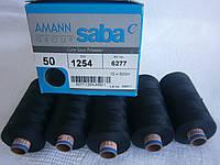 Нитки AMANN Saba C №50 500м акционные 11 цветов от 30 упаковок в асортименте