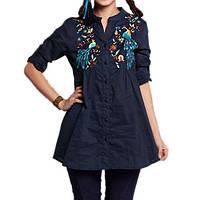 Индийская женская рубашка с вышивкой