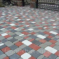 Тротуарная плитка Квадра Старый город, фото 1