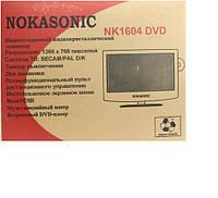 NokaSonic телевизор с DVD NK1604