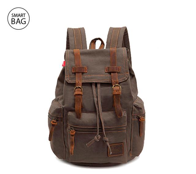 Брезентовый рюкзак Augur цвета хаки