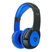 Bluetooth наушники с микрофоном MP3 FM S99 Черно-синие
