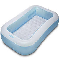 Надувной детский бассейн intex 166x100x28 см, детский бассейн,