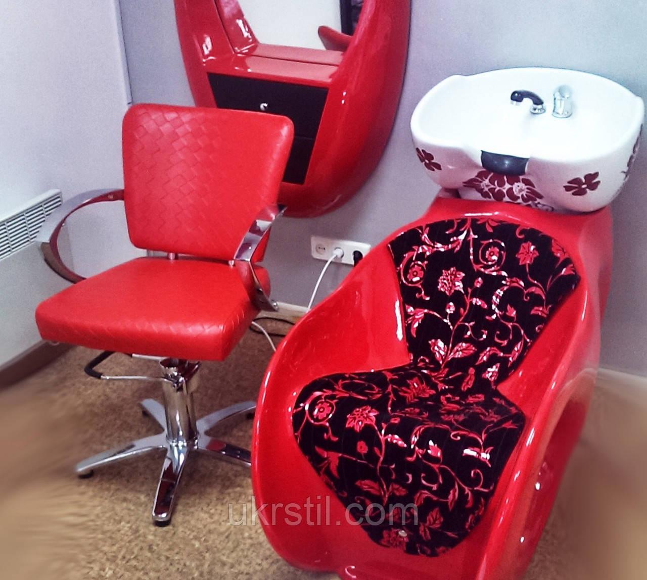 Кресло парикмахерское 38006191 red