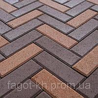 Тротуарная плитка Квадра Кирпич узкий, фото 1