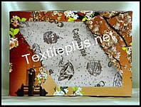 Вафельные полотенца Textile plus 6шт 75*35 Coffe (kod 3010)