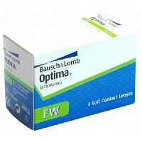 Контактные линзы для глаз на 3 месяца Optima FW (4 шт)