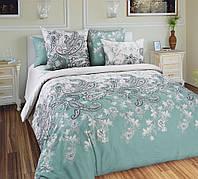 Двуспальное постельное белье с простыню на резинке 160/200/34 - Маркиз, бязь ГОСТ 100%хлопок
