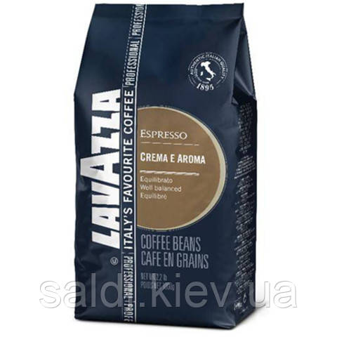 Lavazza Кофе Espresso Crema (Лавацца крема Арома синяя) 1кг