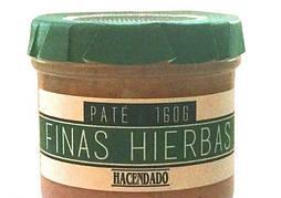 Паштет Hacendado Pate Finas Hierbas, 160 г (Испания)