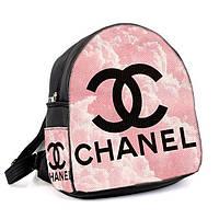 Молодежный розовый городской рюкзак