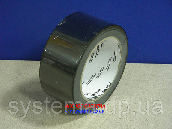ЗМ™ 764i - Клейкая лента (скотч) на основе ПВХ , 51х0,125 мм, черный, рулон 33 м, фото 2