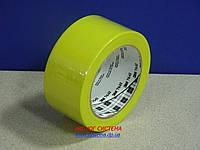 ЗМ™ 764i - Клейкая лента (скотч) на основе ПВХ , 51х0,125 мм, желтый, рулон 33 м