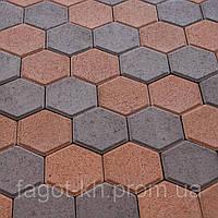 Тротуарная плитка Квадра Сота, фото 1