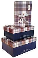 Коробки подарочные #520 набор из 3 шт