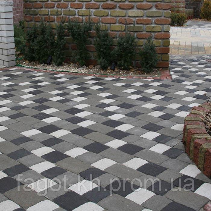 Тротуарная плитка Квадра Старая Площадь