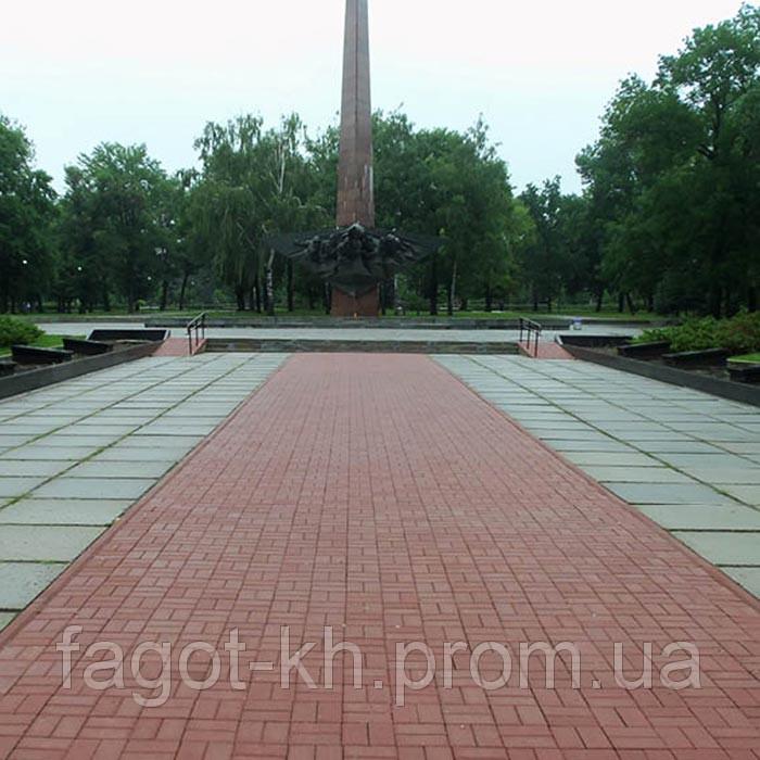Тротуарная плитка Квадра Кирпич стандартный (200х100)