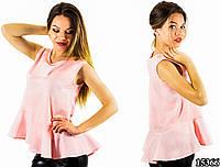 Розовая блуза 15366