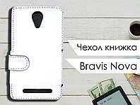 Чехол книжка для Bravis Nova