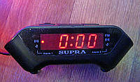 Электронные часы SUPRA 806 P с будильником и FM радио, Часы 806 р (220 В)