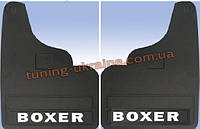 Брызговики турецкие для Peugeot Boxer 2006-2014 прямые