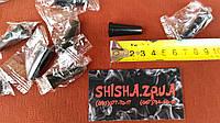 Мундштуки одноразовые, конус борт, черный (100шт.), фото 1