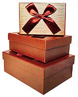 Коробки подарочные #W8651 набор из 3 шт