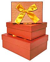 Коробки подарочные #W8652 набор из 3 шт