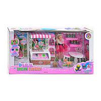 УЦЕНКА Мебель L 0474 (6) свет, 20 мелодий, кукла, аксессуары, в коробке, ПОВРЕЖДЁННАЯ УПАКОВКА