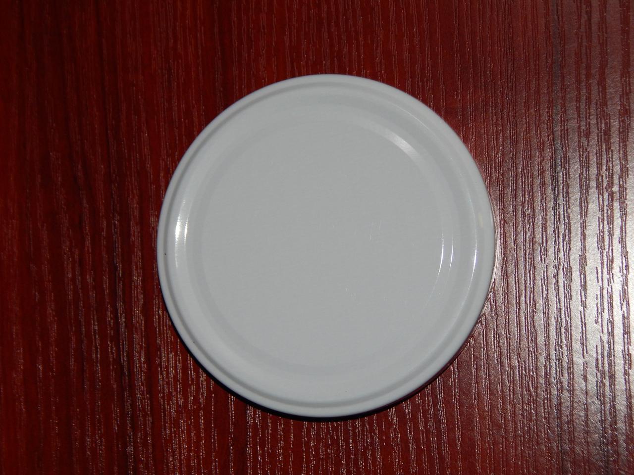 Крышка закаточная твист-офф размер 89 мм белая