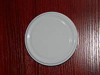 Крышка закаточная твист-офф размер 89 мм белая, фото 1