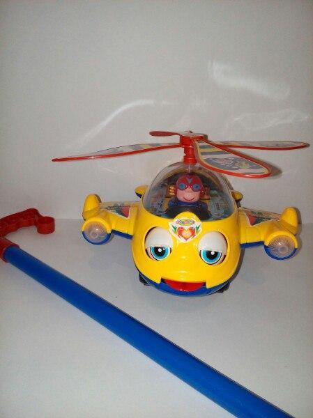Игрушка каталка Вертолет