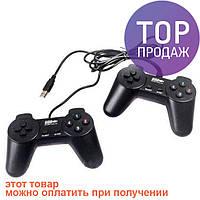 Двойной USB PC Gamepad джойстик для ПК 7012 / Аксессуары для компьютера