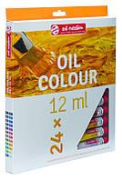 "Набор красок масляных ""ArtCreation"", 24 цвета по 12 мл, Royal Talens, 9020124"