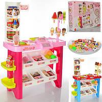 Магазин 668-19-21 прилавок, продукти, 40 предметів, сканер, 2 види, кор., 56-42-14 см.