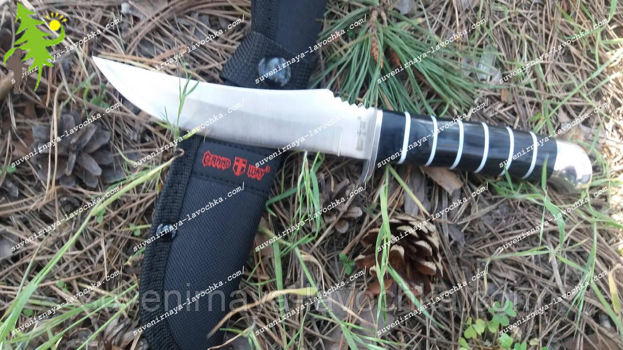 Нож нескладной 2031 AK Зебра