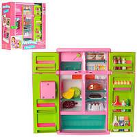 Холодильник 21676 продукти, муз., світло, бат., кор., 32-28,5-14 см.