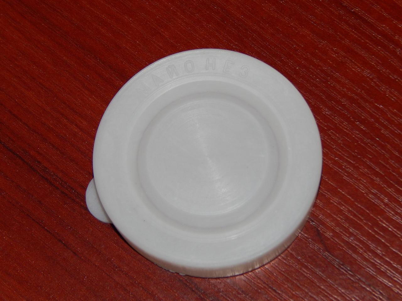 Крышка майонезная СКО- 58 пластмассовая белая
