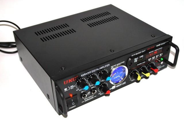 """Усилитель звука UKC AV-339A USB караоке S7280 - Интернет-магазин """"Аermix"""" в Николаеве"""