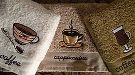Полотенца махровые кухонные - Sokoculer - Coffee - 3 шт. - 40*60 - 100% хлопок - Турция - (kod1697)