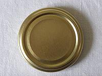Крышка закаточная твист-офф размер 66 мм золото, фото 1