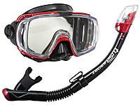 Набор для плавания маска + трубка TUSA VISIO