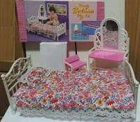 Мебель для куклы барби beauty bedroom арт. 9314