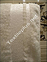 Бамбуковое полотенце банное Cestepe Premium - белый